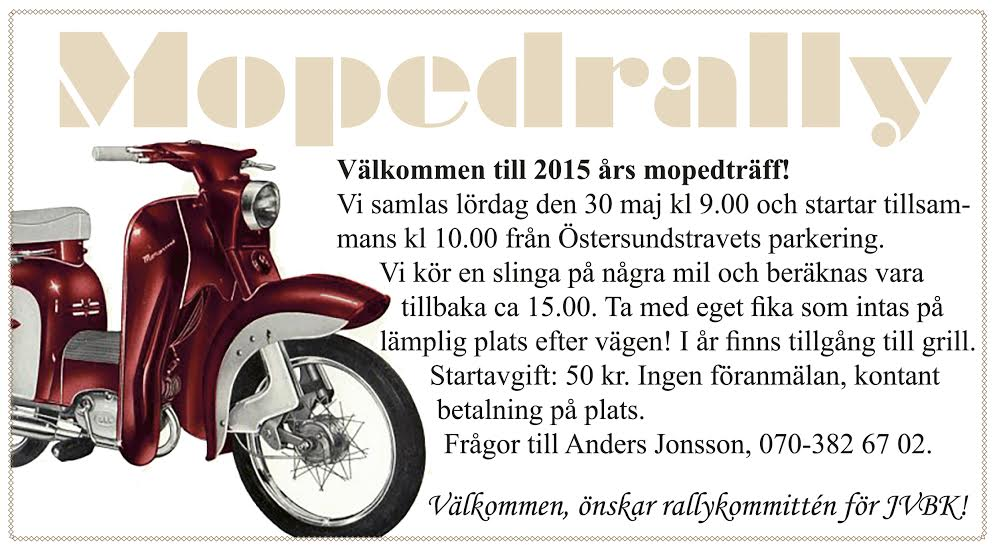 Moped 2015