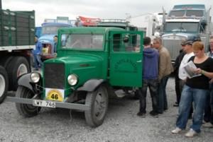 Klubbens lastbil